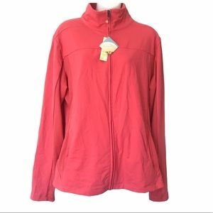 Tuff Athletics Supplex Cotton Pink Sport jacket